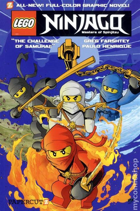 masters of books comic books in lego ninjago masters of spinjitzu
