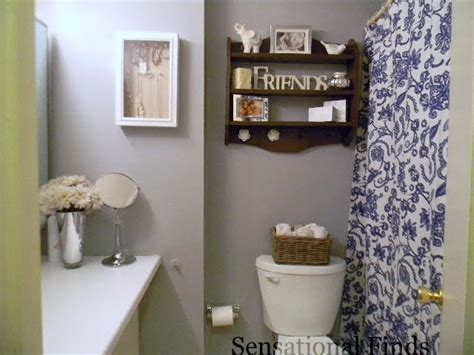 how to decorate a small apartment bathroom sensational finds decorating our apartment bathroom