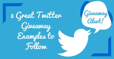 Small Giveaway Ideas - 3 great twitter giveaway ideas to follow via rigniteinc