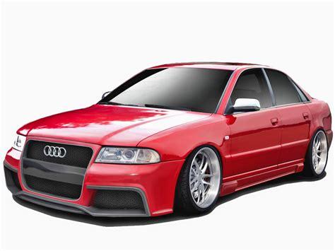 Audi A4 Versions by 96 01 Audi A4 B5 Duraflex Kit Version 1