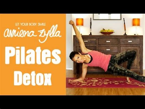 Detox Pilates Workout by Pilates Detox New Years Workout Mit Amiena Zylla