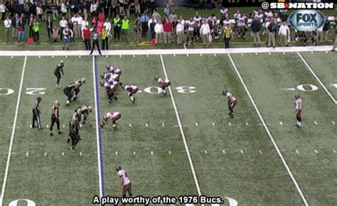 swinging gate offense playbook the ta bay buccaneers pull off the ugliest play of the