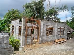building a concrete block house building a concrete block house part 3 philippines