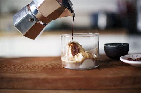 membuat affogato  rumah  espresso maker majalah otten coffee