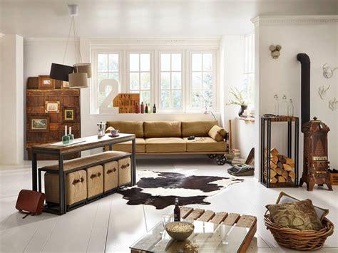 industrie look sofa im industrie design auf r 228 dern massivholzm 246 bel bei