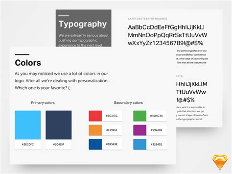 visual style guide template visual style guide template brand identity guidelines
