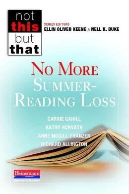 No More Summer Reading Loss By Carrie Cahill