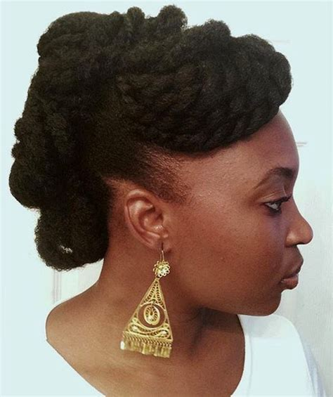 Black Twisted Updo Hairstyles by 50 Updo Hairstyles For Black Ranging From To