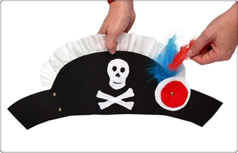 How To Make A Pirate Hat From Paper - 4 easy diy hat crafts for to complete their