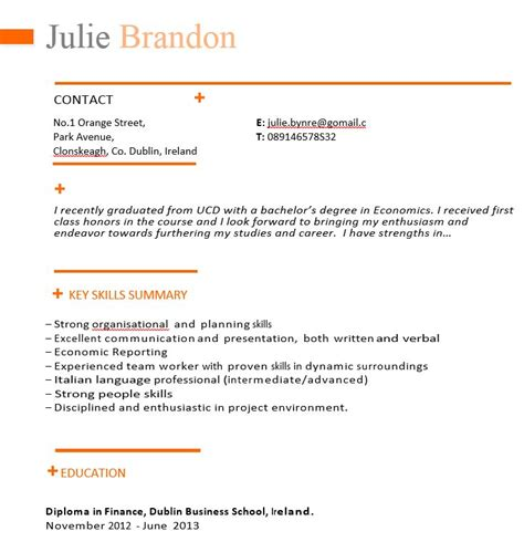cv template for marketing recruiters cv templates