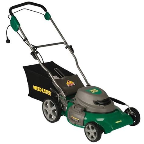 weed eater we20c push lawn mower 12 amp electric 20 quot sle equipment