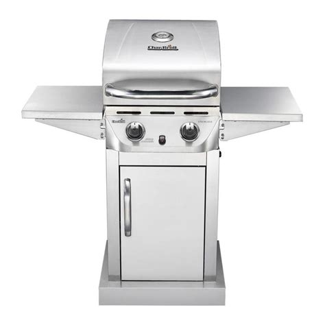 Stainless Gas Grill by Shop Char Broil Stainless 2 Burner 20000 Btu Liquid