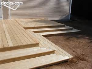 Deck Corner Stairs Design Deck Step Corners Outside