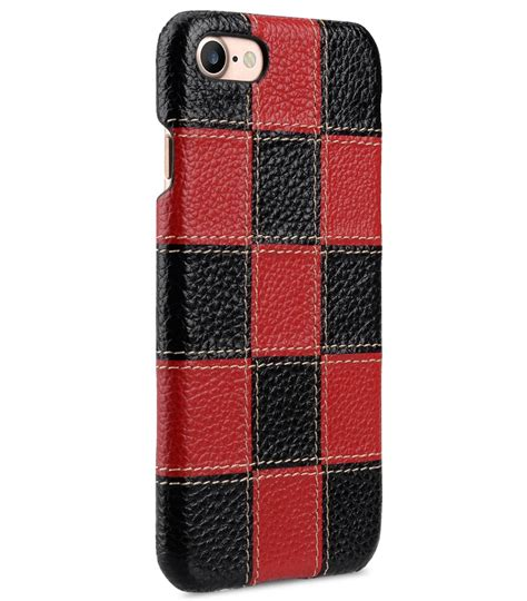 Lc Leather Black Series melkco patchwork series premium leather snap cover for