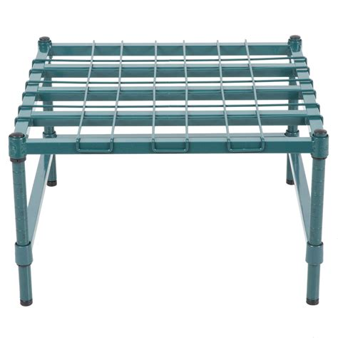 What Is Dunnage Rack by Regency 24 Quot X 24 Quot Heavy Duty Green Dunnage Rack With Mat