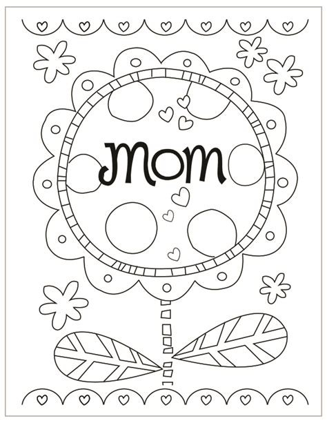 mothers day coloring mothers day coloring pages coloring rocks