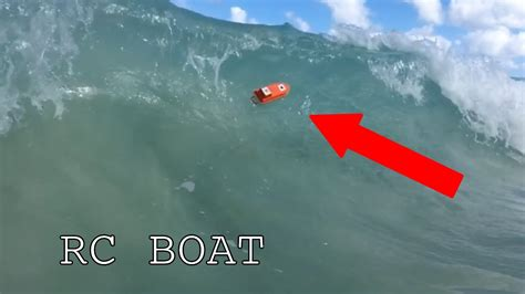 rc boats vs waves rc 3d printed boat vs waves youtube
