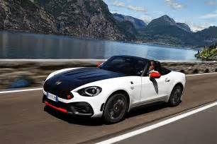 Fiat 124 Abarth Spider Fiat 124 Abarth Spider 2017 Autoevolution