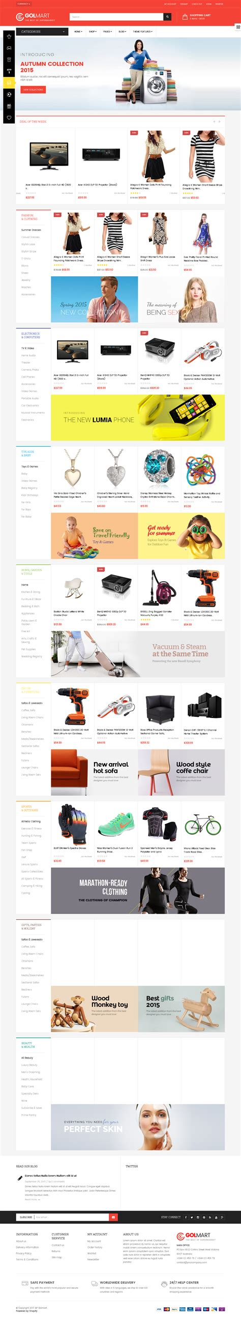 shopify themes store 5 best shopify themes for electronics products store