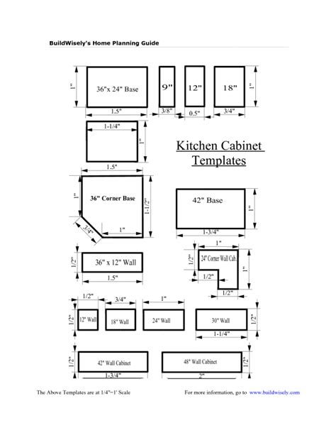 28 Kitchen Cabinets Design Layout Template Download
