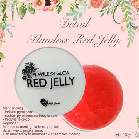 Flawless Jelly by Flawless Glow Jelly Original Bpom Pusat Stokis