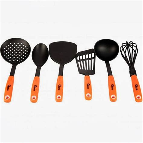 Spatula Oxone ox 953 spatula oxone set kitchen tools murah warna orange 70ribuan mz homeshop