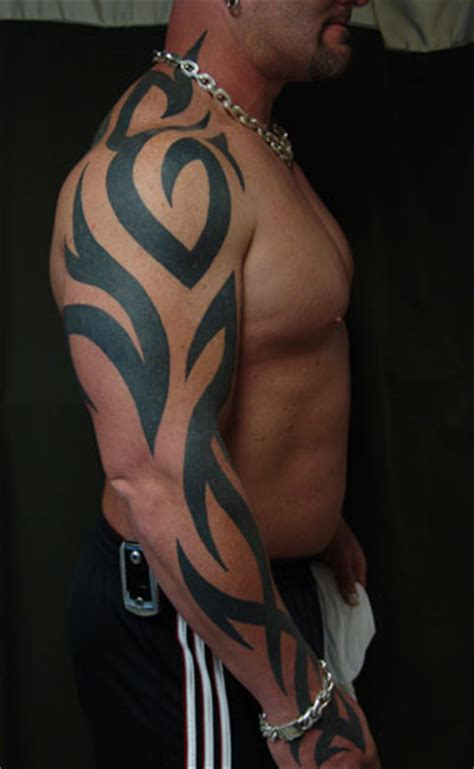 thick tribal tattoos iokoio sleeve ideas for black