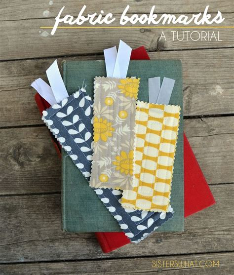 printable fabric tutorial fabric bookmarks tutorial gt gt plus free printable for
