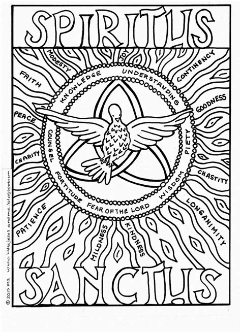 coloring page pentecost 53 best images about coloring pages on