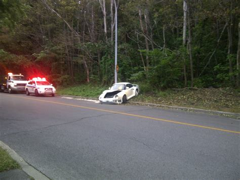 porsche 959 crash porsche 959 crashed in montreal autoevolution