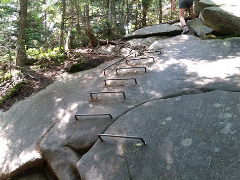 Table Rock Maine by Waterfalls Caves The Appalachian Trail At Grafton Notch