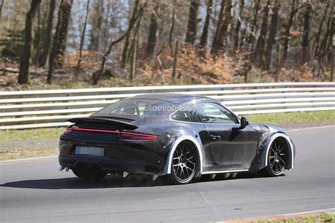 2019 New Porsche 911 by 2019 Porsche 911 Chassis Development Mule Spied On The