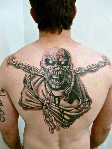 ironclad tattoos iron maiden eddie of mind tattoos search