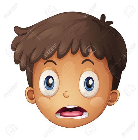 emoticonos de dibujos animados con cara enfadada sobre 17024670 ilustraci n de una cara de ni o sobre un fondo