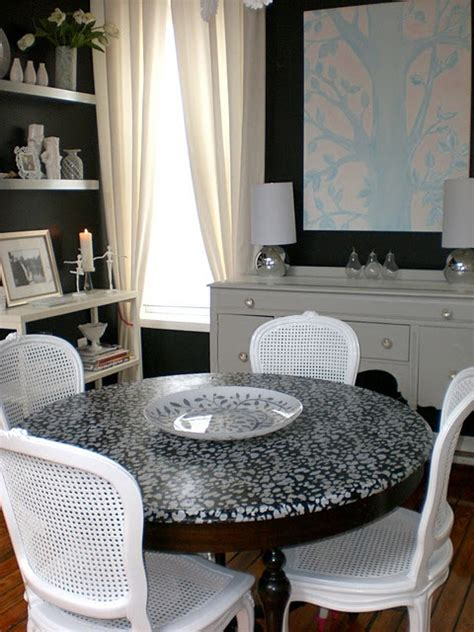 decoupage dining room table 25 best ideas about decoupage table on