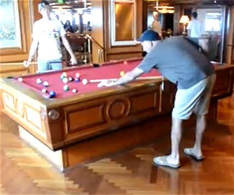 self leveling pool table shizzle kicks