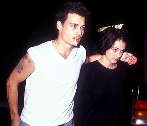 johnny depp ex girlfriend tattoo johnny depp johnny depp winona ryder and forever tattoo