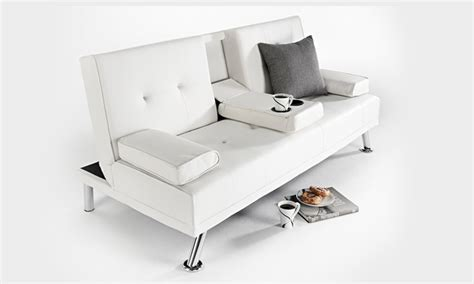 cinema style sofa bed sofa bed groupon goods