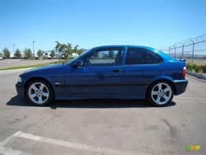 avus blue pearl 1998 bmw 3 series 318ti coupe exterior