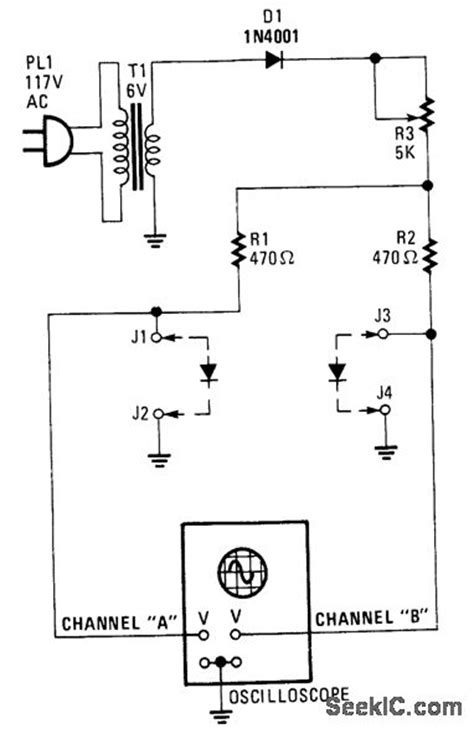 simple diode circuits simple diode curve tracer basic circuit circuit diagram seekic