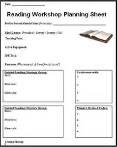 Reading Workshop Lesson Plan Template by Reading Workshop What It Looks Like In My Classroom