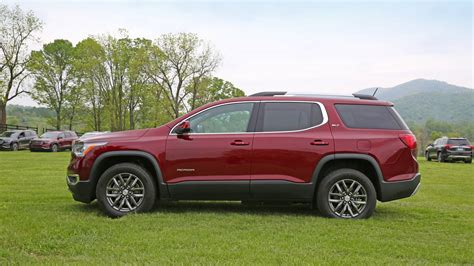 weight of gmc acadia 2017 gmc acadia review with price horsepower and photo