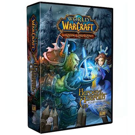 World Of Warcraft Gift Card - world of warcraft heroes of azeroth tcg starter deck upper deck world of warcraft