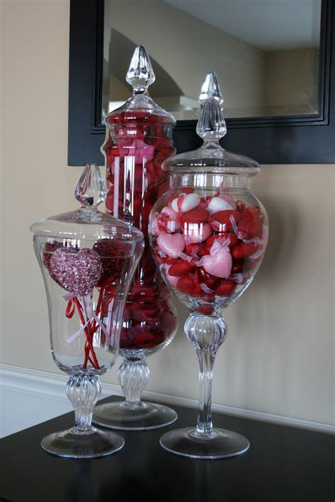 valentine day home decor creative designs by jen valentine s day apothecary jars