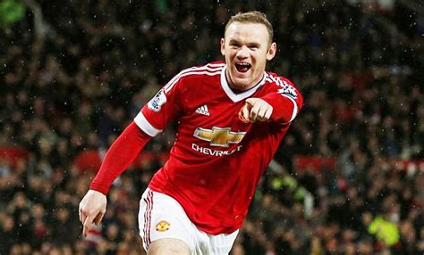 manchester united wayne rooney goal rooney ends goal drought and inches closer to epl goal