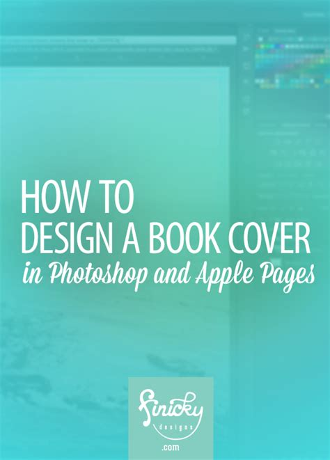 How To Design A Book Cover In Photoshop And Apple Pages Cover Template Book Covers And Photoshop Free Ebook Cover Templates For Photoshop