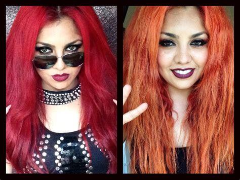 imagenes de tintes rojos fuertes decolora tu cabello sin da 209 arlo como quitar el color rojo
