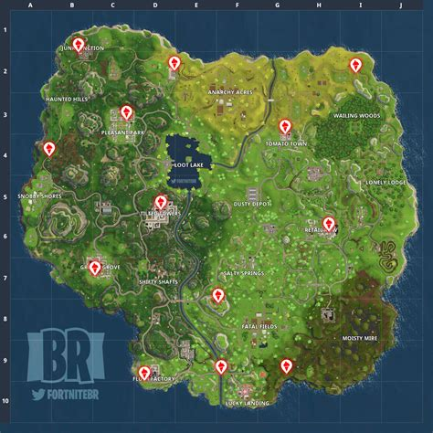 fortnite locations fortnite trucks all truck locations
