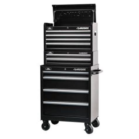 Rent To Own Husky 52 Inch 10 Drawer Mobile Workbench With by Husky 27 In 10 Drawer Storage Cabinet Set 3