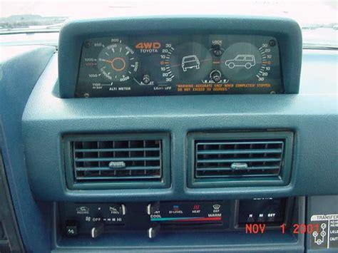 Toyota 4runner Inclinometer Gt 1985 Sr5 Toyota 4runner
